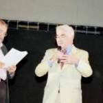 20/06/04 - Consegna del Premio Artusi 2004 al Prof. Riccardo Petrella - la somma di 5000 euro è stata versata al Comitato Mondiale dell'Acqua per  l'avvio delle attività della Facoltà dell'Acqua dell'Università del Bene Comune di Abano Terme