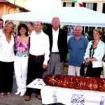 """27/06/04 - La delegazione francese ospite al quartiere """"Escoffier"""""""