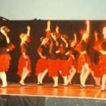 Giugno 2000 - Scuola di danza Irene Kenin di Villeneuve Loubet alla Festa Artusiana di Forlimpopoli