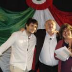 Premiazione di Andrea Albertazzi, Premio Marietta 2006,  da parte di Francesca Capanna, del Club delle Cuoche