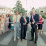 Il Sindaco di Forlimpopoli e quello  di Villeneuve Loubet inaugurano Viale Roma