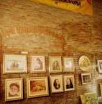 Particolare della mostra di pittura e scultura  organizzata dall'Associazione Amici dell'Arte ...